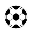 Football soccer ball icon vector image