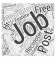 GoRecroot International Jobs Recruiters Post Free vector image vector image