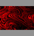 red and black liquid style beautiful abstract vector image