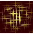 Seamless star background vector image vector image