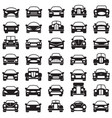set cars vector image