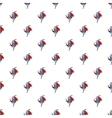 Superhero runs pattern cartoon style vector image vector image