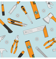 tools seamless 5 vector image vector image