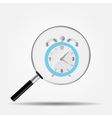Watch Search Icon vector image