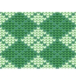 Argyle background pattern vector image