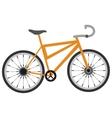 single bike icon vector image vector image