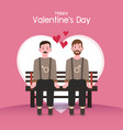valentines day background couples in love vector image vector image