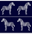 Zebra seamless pattern vector | Price: 1 Credit (USD $1)