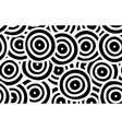 Background of curved rounds vector image vector image