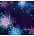 floral abstract background greeting or invitation vector image