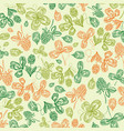 floral st patricks day light background vector image vector image