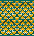 optical seamless pattern yellow corners vector image vector image
