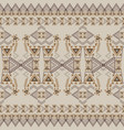seamless texture tribal geometric pattern vector image vector image