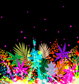 Colourful Floral Background vector image