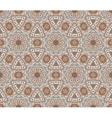 absract seamless geometric mosaic print vector image