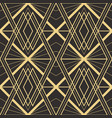 abstract art deco seamless modern tiles pattern vector image vector image