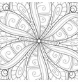 adult coloring bookpage a floral abstract