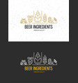 brewery beer house labels