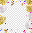 celebration template happy birthday on black vector image