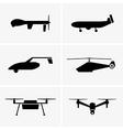 Drones vector image vector image