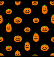happy halloween seamless background wallpaper vector image vector image