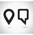 Location icon vector image vector image