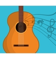 Music string instrument vector image vector image