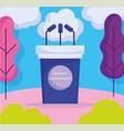 podium microphones politics election democracy vector image