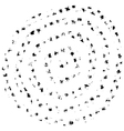 Radial Grunge Background vector image