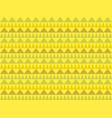 seamless african pattern with geometric elements vector image
