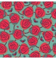 Seamless pattern with decorative roses vector image vector image