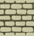 seamless stone wall vector image vector image