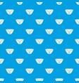 vintage bikini pattern seamless blue vector image vector image