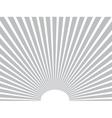 background Sun rays Gray Eps 10 vector image