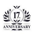 17th anniversary logo 17 years celebration
