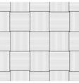 Basketwork Drawing Only black on transparent vector image vector image
