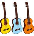 classic guitars vector image