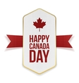 Happy Canada Day greeting Banner vector image vector image