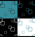 seamless pattern with four colored square vector image vector image