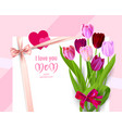spring holiday mothers day vector image