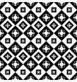 square black seamless pattern vector image vector image
