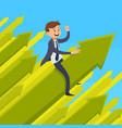 career development design concept vector image