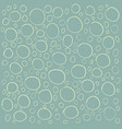 bubbles abstract pattern vector image