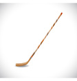 Isolated hockey stick vector image vector image