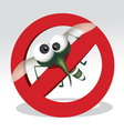 mosquito repellent vector image vector image