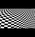 optical illusion checker texture vector image