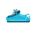 sneaker to practice exercise and train vector image vector image
