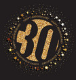 30th birthday logo