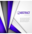 Abstract background of purple white and black vector image