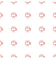 camera icon pattern seamless white background vector image vector image